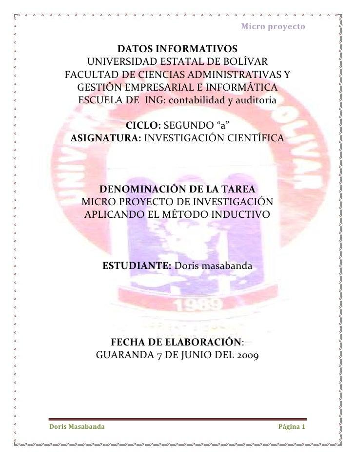 -232410-237490DATOS INFORMATIVOS<br />UNIVERSIDAD ESTATAL DE BOLÍVAR<br />FACULTAD DE CIENCIAS ADMINISTRATIVAS Y GESTIÓN E...