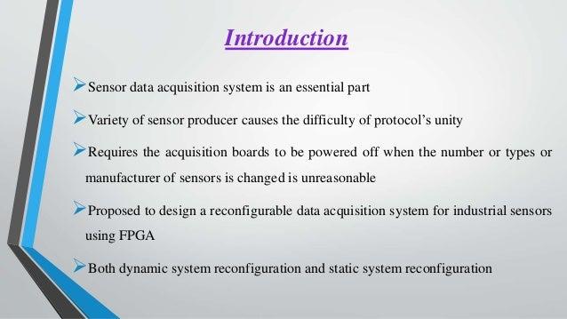 Fpga Data Acquisition System In Industrial Scene