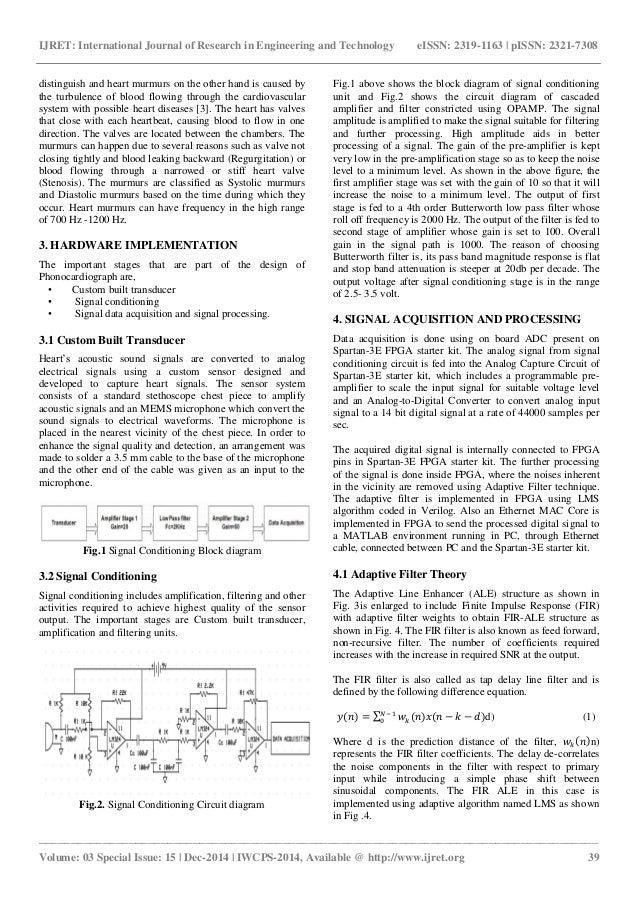 Fpga based computer aided diagnosis of cardiac murmurs and