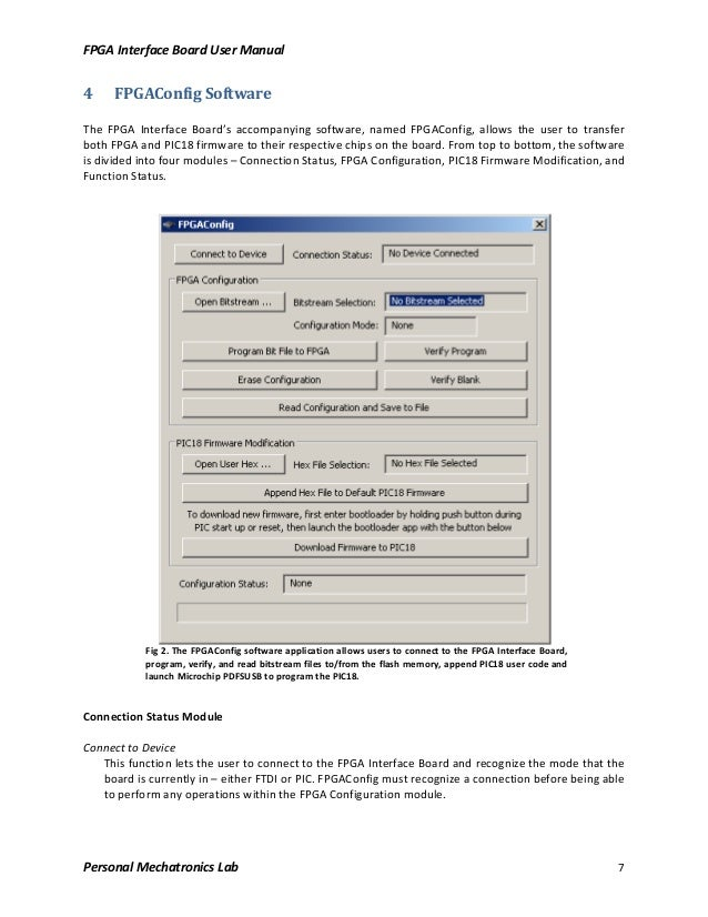 Fpga board user manual