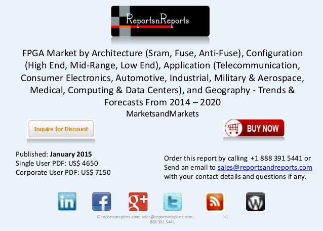 FPGA Market by Architecture (Sram, Fuse, Anti-Fuse), Configuration (High End, Mid-Range, Low End), Application (Telecommun...