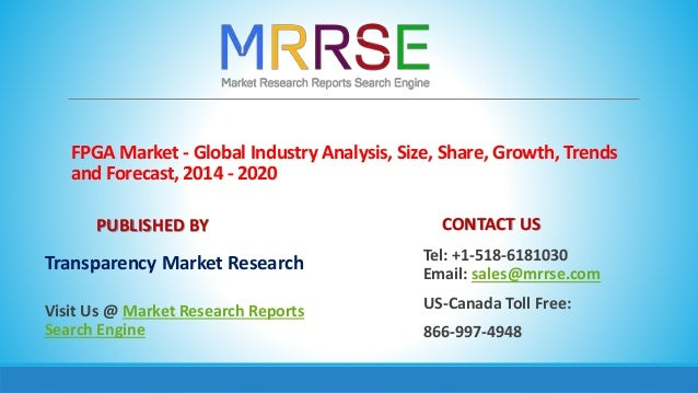FPGA Market - Global Industry Analysis BY 2020