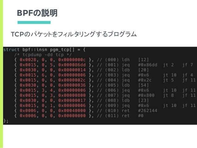 Offloading BPF Implementation to FPGA-NIC したいねって話
