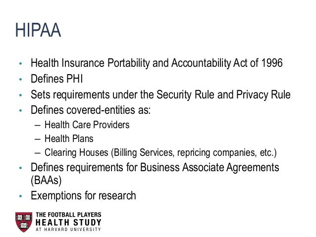 checkpoint hipaa privacy rule exemptions and 10 protected health information (phi) is the health information protected by the hipaa privacy rule and is a subset of individually iden.