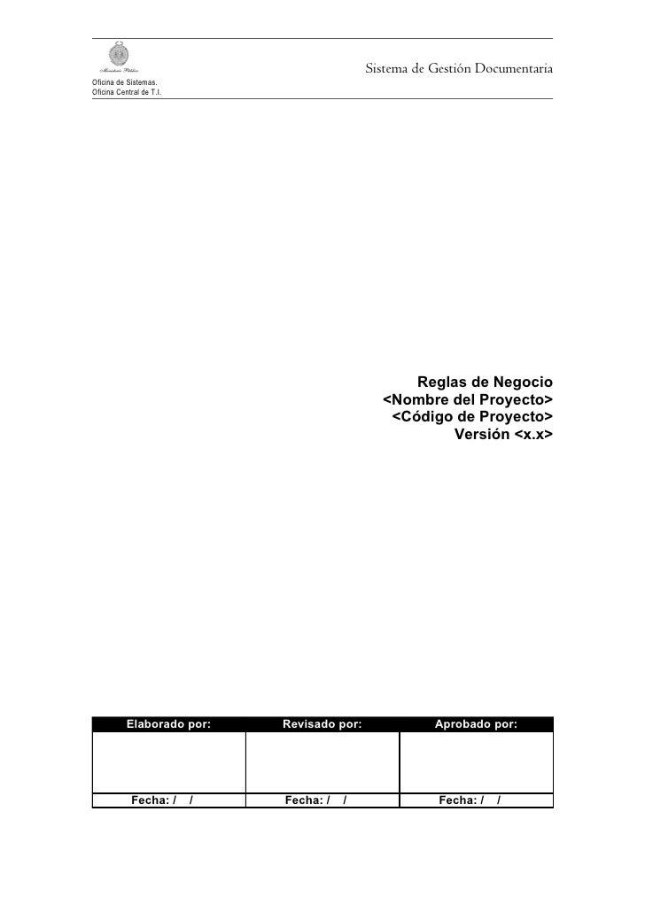 Sistema de Gestión DocumentariaOficina de Sistemas.Oficina Central de T.I.                                                ...