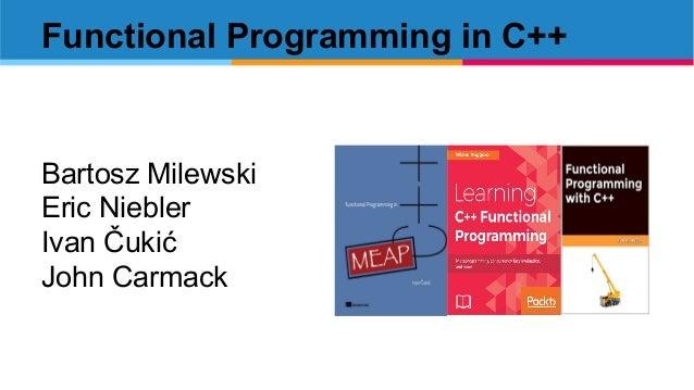 Functional programming in C++ LambdaNsk Slide 3
