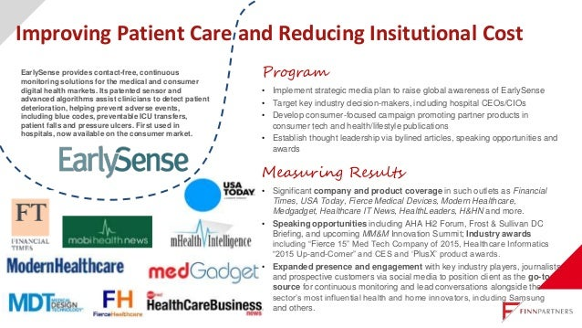 Program Establish this multi-state health network's national voice: • Position executives as thought leaders. • Advance na...
