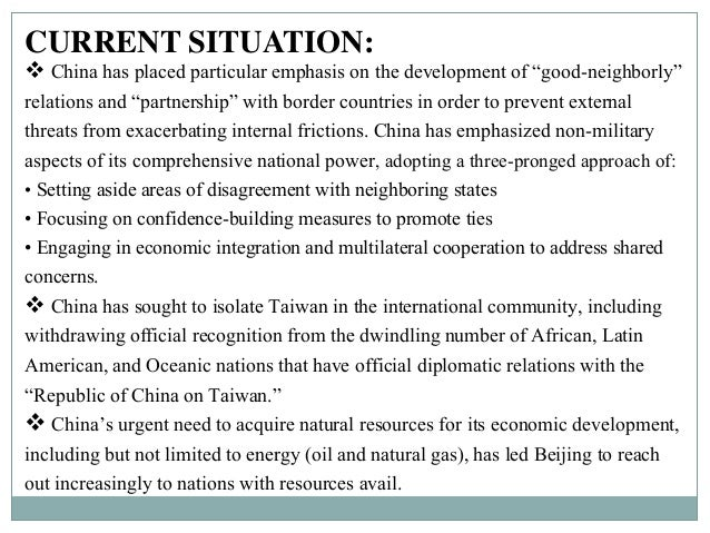 the economy and foreign policy of modern china Introduction to china's modern  the chinese economy was still the most  the combination of internal upheaval and foreign aggression led to.