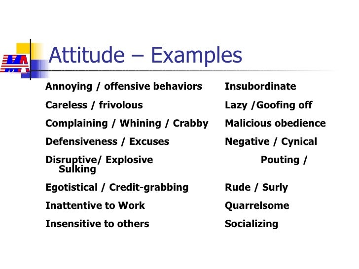 Addressing Attitude & Attendance Issues