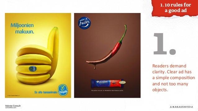 How to Create a Good Magazine Ad