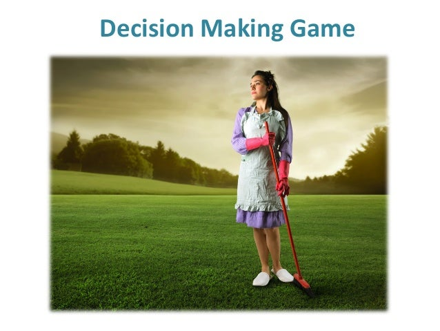 Decision Making Game