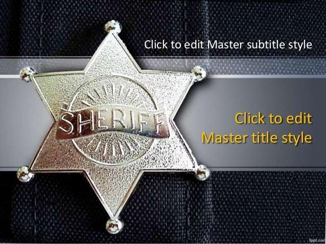 Fppt Free Powerpoint Presentation Template Sheriff
