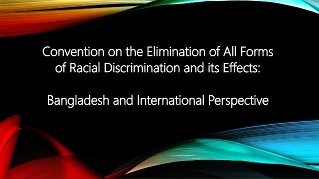 racial profiling as a form of discrimination But what is racial discrimination if you're to make sure it doesn't happen at your  organisation, you need to be able to recognise it in all its forms increase your.