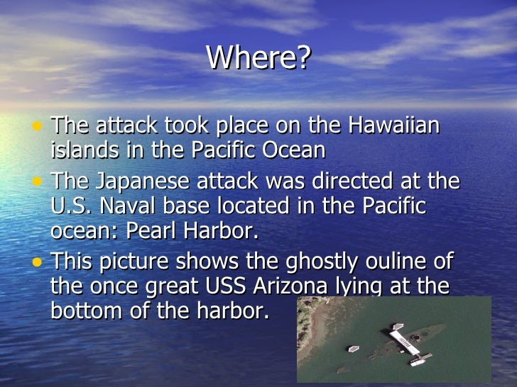 the reasons why united states was attacked at pearl harbor in 1941 By carefully avoiding the philippines and pearl harbor, the japanese might have inherited the european colonial empire in the pacific without starting a war with the united states and had the japanese and germans coordinated strategy, the two might have attacked russia simultaneously in june 1941.