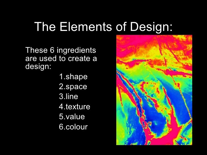 What Are The Elements Of Design : Principles and elements of design