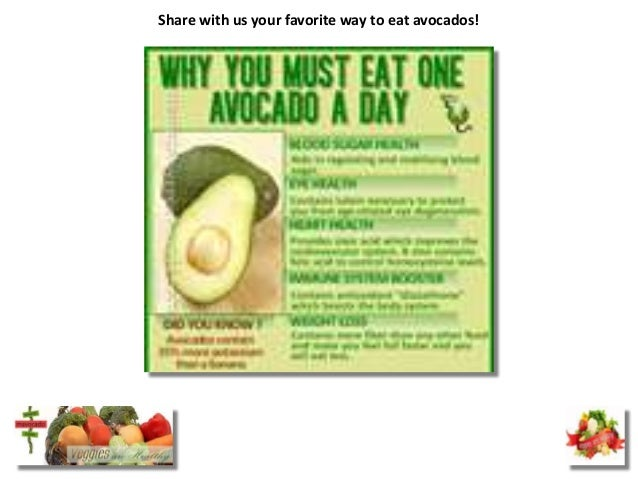 Share with us your favorite way to eat avocados!