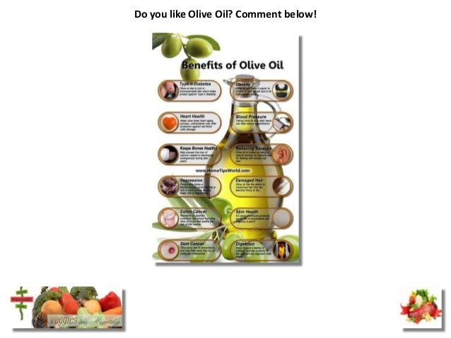 Do you like Olive Oil? Comment below!