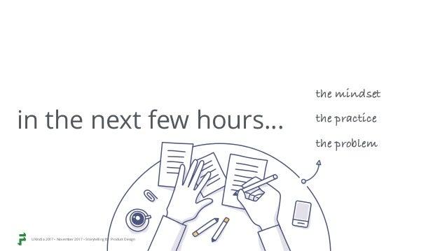 Storytelling for product design UXindia2017 Slide 3