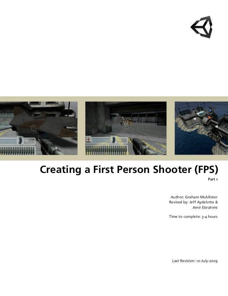 CreatingaFirstPersonShooter(FPS)                                                Part1                           Aut...