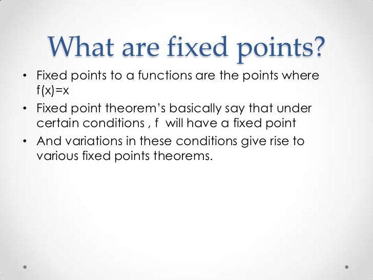 FIXED POINT THEOREM EBOOK DOWNLOAD