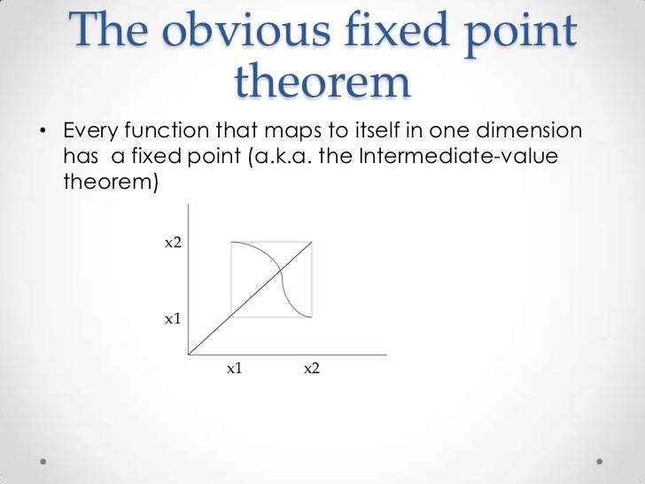 Fixed Point Theorems