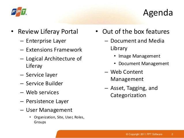 Liferay Portal Introduction Slide 2