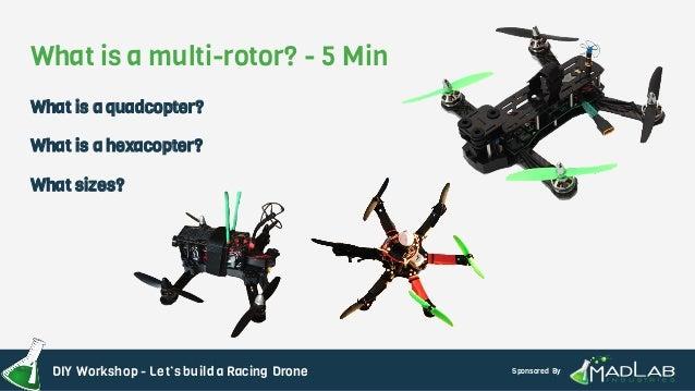 Maker Faire Atlanta Drone Racing DIY Workshop