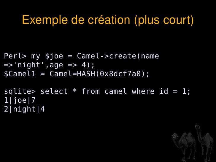 Le temps passé à manipuler SQL n'est pas consacré au code métier </li></ul>