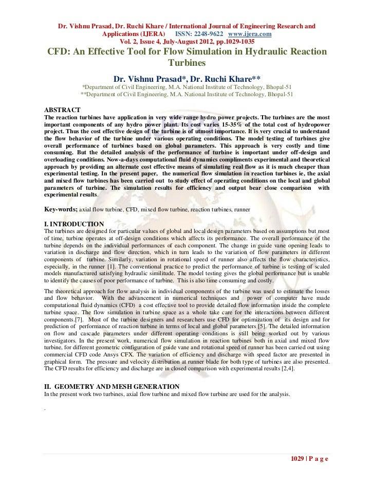 Dr. Vishnu Prasad, Dr. Ruchi Khare / International Journal of Engineering Research and                    Applications (IJ...