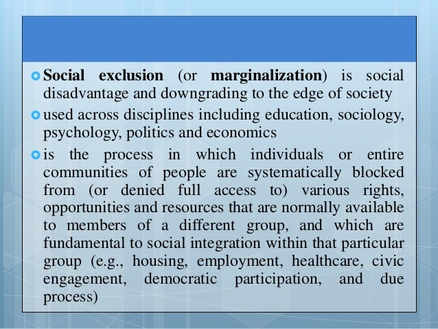 """the social disadvantages faced by disabilities sociology essay Introduction to deviance, crime, and social control psychopaths and sociopaths are some of the favourite """"deviants"""" in contemporary popular culture."""