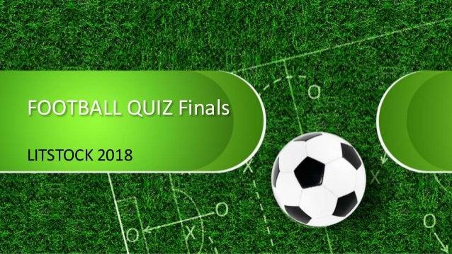 Litstock 18 Football Quiz Finals