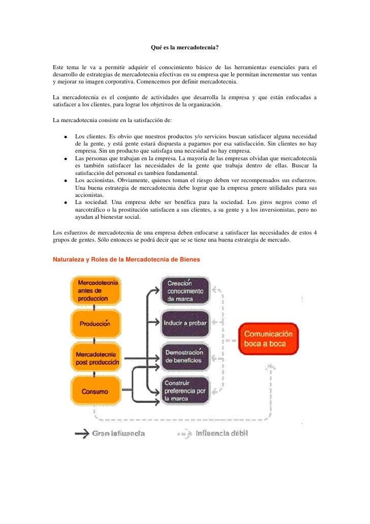 Qué es la mercadotecnia?<br />Este tema le va a permitir adquirir el conocimiento básico de las herramientas esenciales pa...