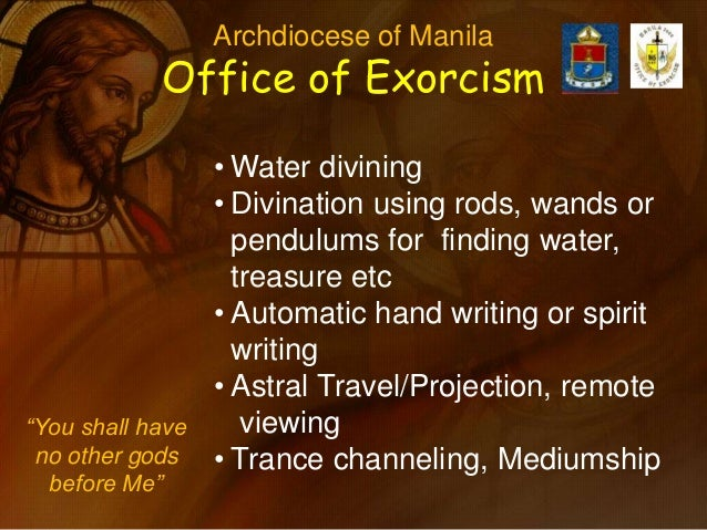 Fr Jocis Syquia Catechesis On Delivernce And Exorcism
