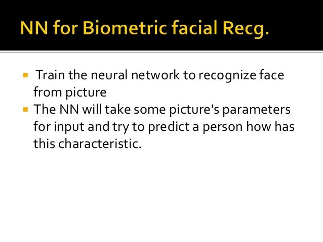 face recognition using neural networks pdf