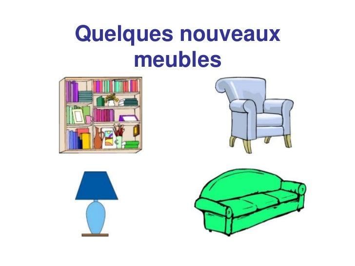 Fr 2 unit 2 la maison et les meubles -> Les Meubles De Maison