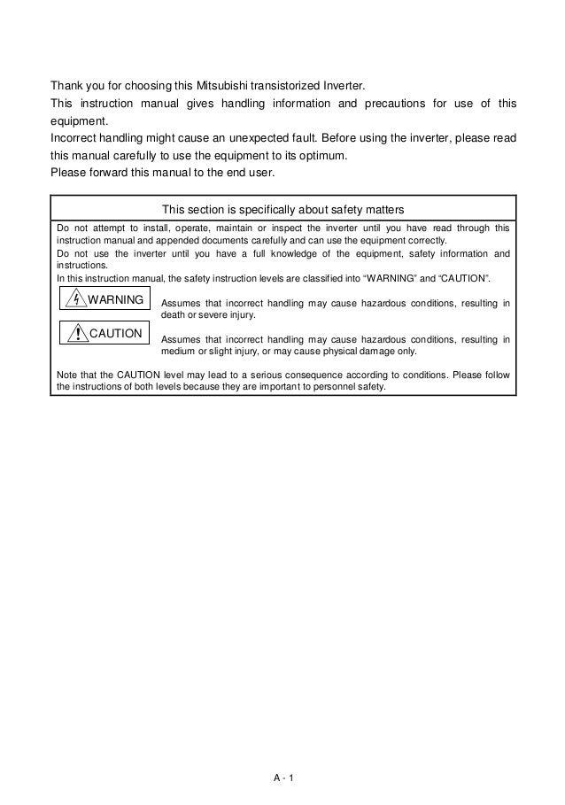 fr a500 rh slideshare net Instruction Manual Book Owner's Manual