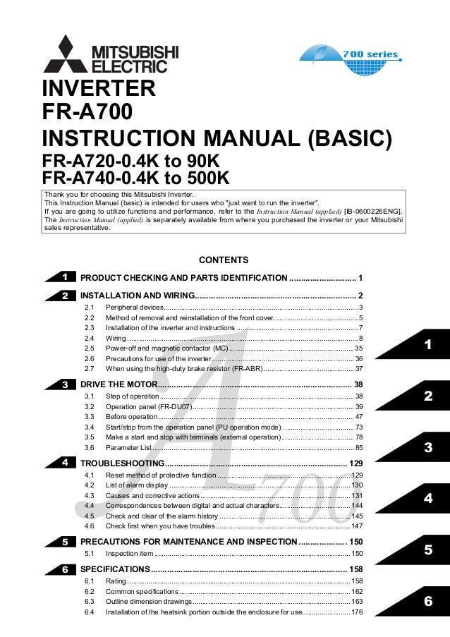 Fr A740 Manual
