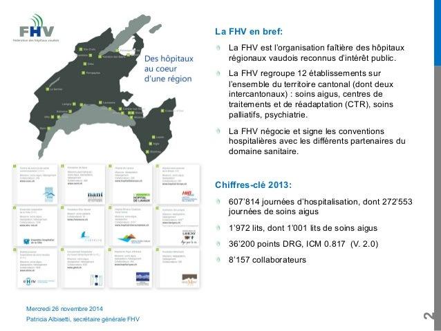 Quel modèle de relations tarifaires?- Patricia Albisetti (FHV) Slide 2