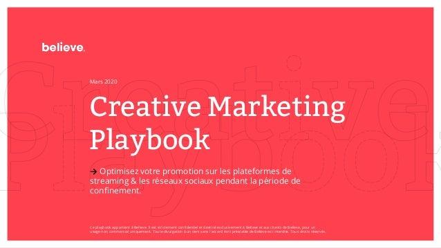 Creative Marketing Playbook → Optimisez votre promotion sur les plateformes de streaming & les réseaux sociaux pendant la ...