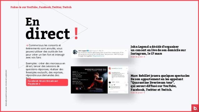 En → Comme tous les concerts et événements sont annulés, vous pouvez utiliser des outils de live pour créer un lien fort e...