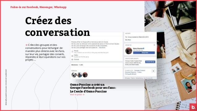 Oxmo Puccino a créé un Groupe Facebook pour ses fans : Le Cercle d'Oxmo Puccino Voir le post → Créez des conversation → Cr...