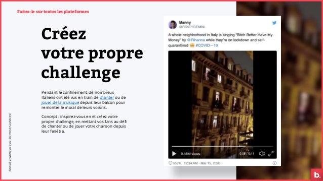 Créez votre propre challenge Faites-le sur toutes les plateformes Pendant le confinement, de nombreux Italiens ont été vus...