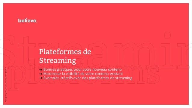 Plateformes de Streaming → Bonnes pratiques pour votre nouveau contenu → Maximisez la visibilité de votre contenu existant...