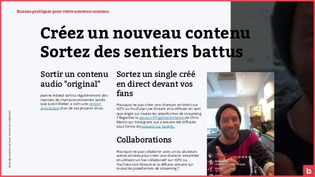 """Créez un nouveau contenu Sortez des sentiers battus Sortir un contenu audio """"original"""" Jeanne Added sortira régulièrement ..."""