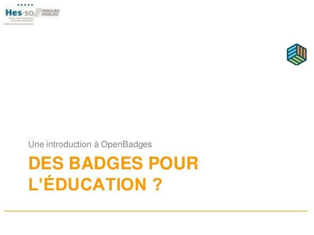 Nom du badge Description Critères d'obtention Emetteur Preuves Date de validité Date émission Image.png Illustration + mét...