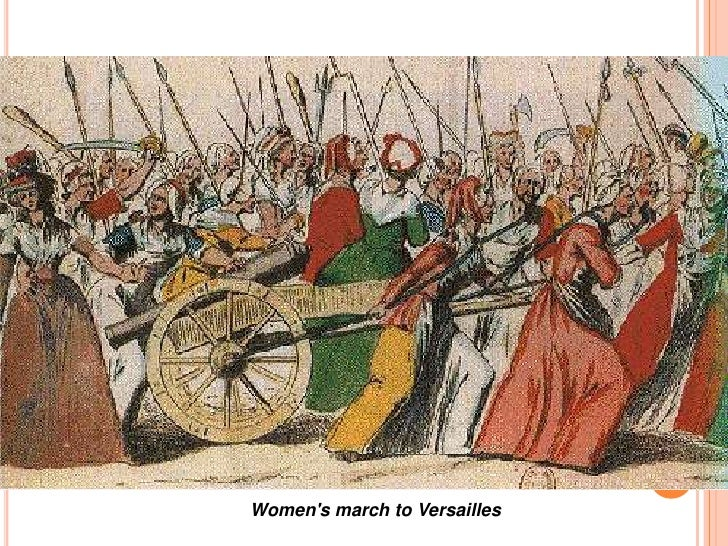 french revolution womens to versailles