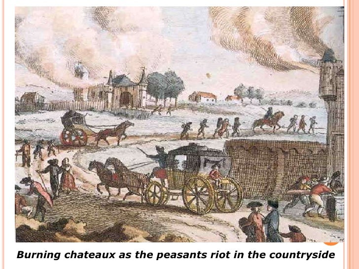 peasants french revolution essay When the government introduced burdensome tax policies, the peasants were resistant and felt that the regime was becoming unbearable the social activ.