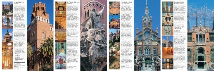 Le Castell dels Tres                                         Le Palau de la Música                         L'Hospital de l...