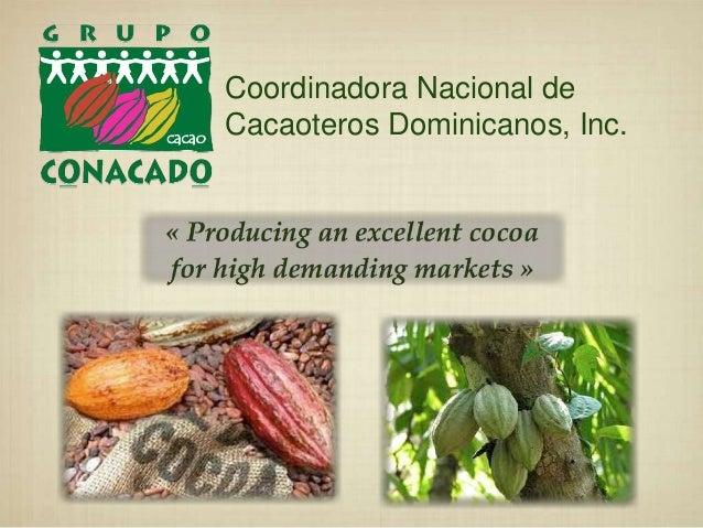 Coordinadora Nacional de Cacaoteros Dominicanos, Inc.