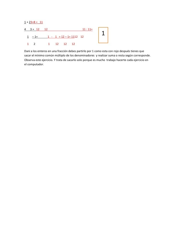 1 + 23+8 = 114       3 = 12   12                         11 : 11=    1    – 1=         1 - 1 = 12 – 1= 1112 12            ...